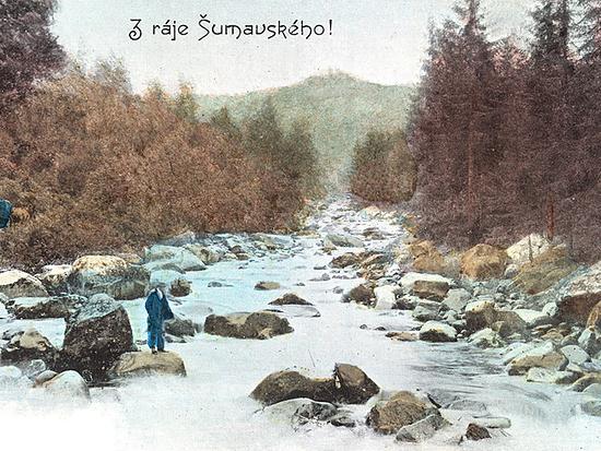 Povydří - z ráje Šumavského 1900